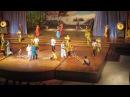 Фольклорное шоу в Тайланде 5. Танец с бамбуковыми палками.