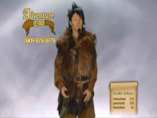 Limmy's Show - Adventure Call - A pissed off caller is gonna kill Falconhoof.