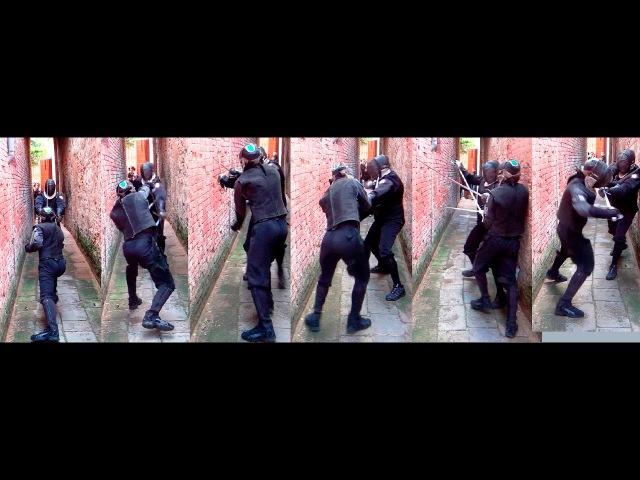 XVIII FISAS 2017 Rapier and dagger in a narrow alley in Venice