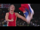 Vorobieva wins Gold Women's Freestyle 72kg London 2012 Olympics