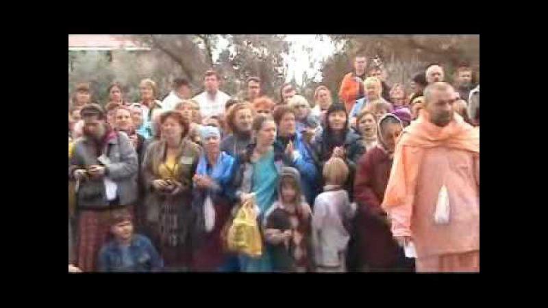 Шрила Б Нараяна Махарадж Киртан Даршан 1 вопросы и ответы Одесса 2008 г