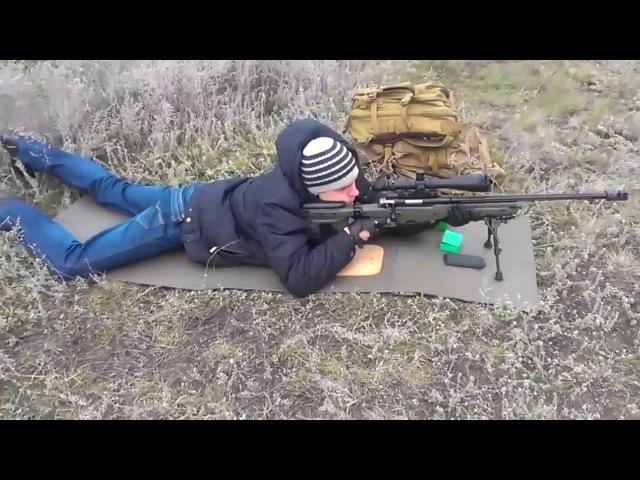 Зброяр Z 008 243Win стрельба на 500 метров Zbroyar Z 008 243Win shoting 547 yards