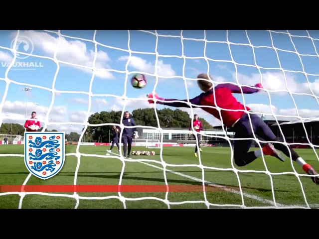 Goalkeeper training session for World Cup Qualifier (Hart, Forster, Heaton) | Inside Training