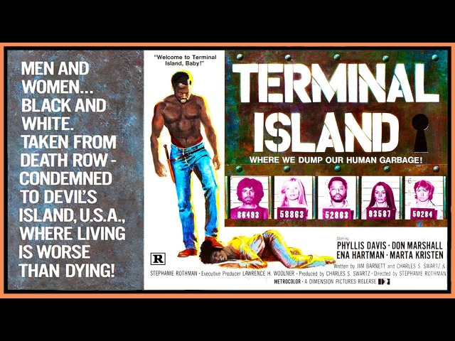 Terminal Island (1973) VHS Trailer - Color / 2:50 mins