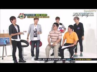 [RUS SUB] Weekly Idol Sunggyu & Hoya MC Tasty 121010 рус саб