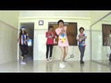 Qu-T  HYUNA - Ice Cream Dance practice