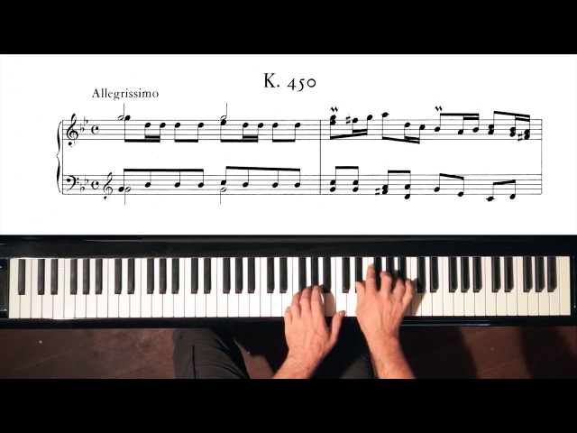 Scarlatti Sonata in G minor K.450