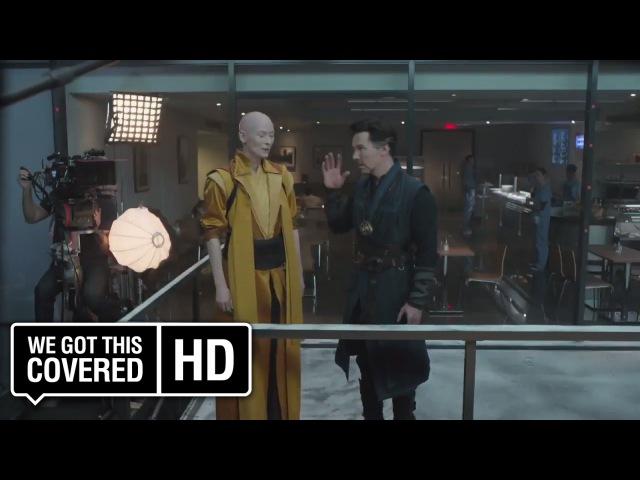Doctor Strange Blu-ray Bloopers and Gag Reel [HD] Benedict Cumberbatch, Rachel McAdams