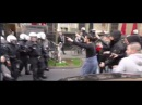 Kurds clash Pro erdogan Turks in 5 cities in Germany 18 injured , 24 arrested