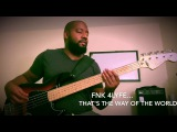 Fender Deluxe Active Jazz V - (Earth, Wind, and Fire) That's the Way of The World  (bass cover)