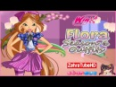 Winx Club - Flora Season 6 Outfits - Dress Up Game - Children Games