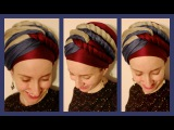 The Wrapunzel Triple Twist Turban!