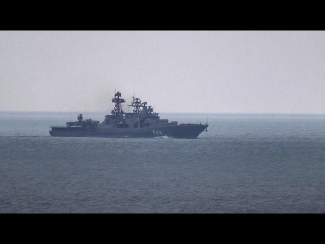 БПК Адмирал Пантелеев_Владивосток ADMIRAL PANTELEYEV