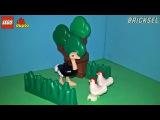 Семки есть? А если найду? Туристический юмор LEGO DUPLO. Курица. Страус.