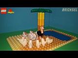 Курицы в Австралии. Туристический юмор LEGO DUPLO. Куры, курица, страус.