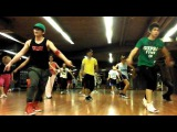 20130107Ne-Yo - One In A Million Dance practice in Fitness Thailand's Hiphop Class. Round2.