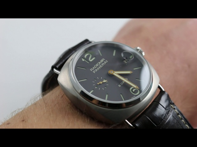 Panerai Radiomir 8 Days Titanio PAM 346 Luxury Watch Review