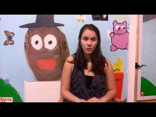 Дети билингвы. Интервью с молодыми американцами. Анастасия 14 лет