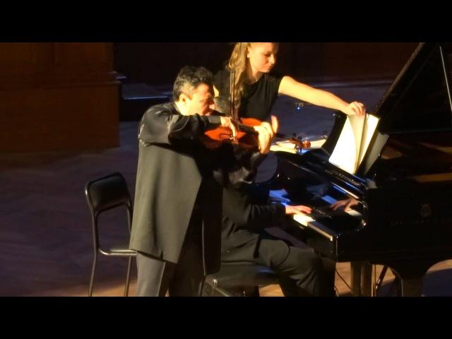 Г.Форэ Пробуждение Максим Венгеров (скрипка) Итамар Голан (фортепиано)