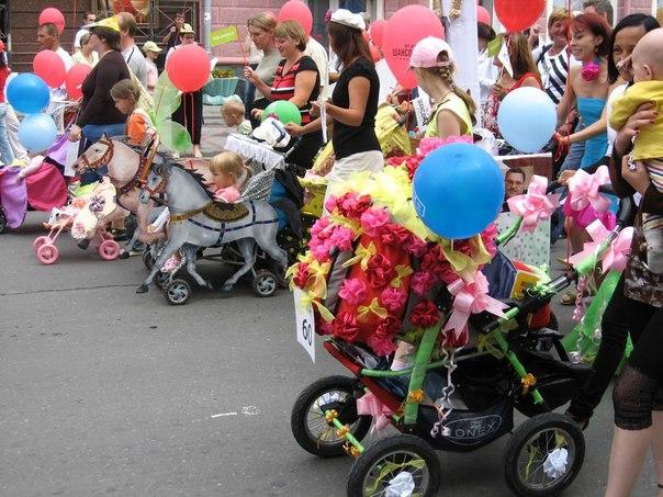 В Азнакаево пройдет парад детских колясок