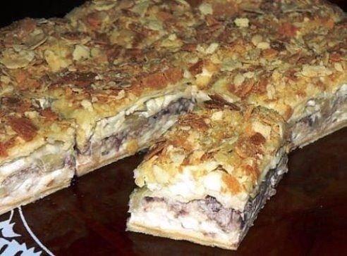 Торт-салат «Наполеон» — невероятно вкусная закуска!!! Несколько