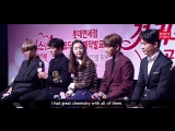 LOTTE DUTY FREE `7 First Kisses`: Production Presentation @ EXOs Kai