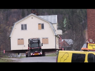 Moving Malmberget with Scania