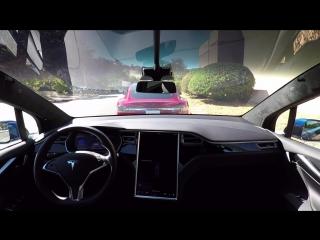 Полноценный автопилот Tesla