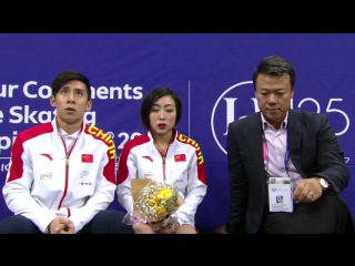 Four Continents Championships 2017. Pairs - FР. Wenjing SUI ⁄ Cong HAN