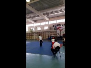 Чемпионат и первенство Южного Федерального Округа по Кикбоксингу дисциплина лайт контакт