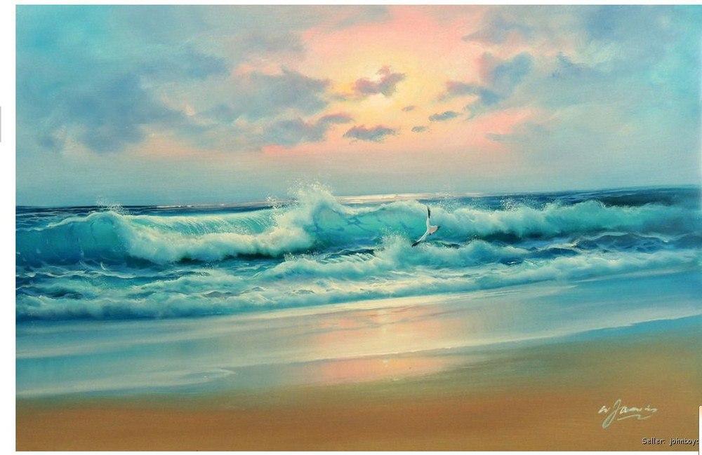 В Таганроге состоится мастер-класс по масляной живописи «Морской пейзаж» от питерской студии Арт-Факультет