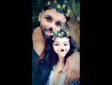 Shay Mitchell's Snapchat ft. Matte Babel (2 января 2017)
