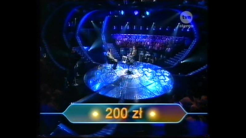 Milionerzy 20.05.2001 p2