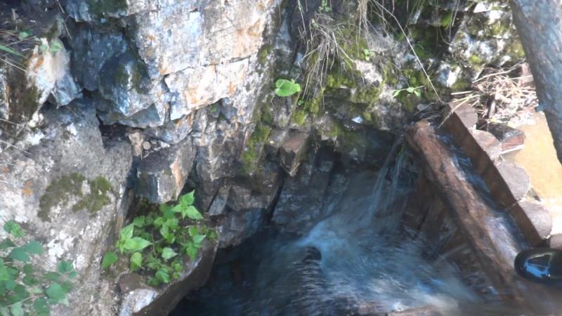 Переток воды в шурф