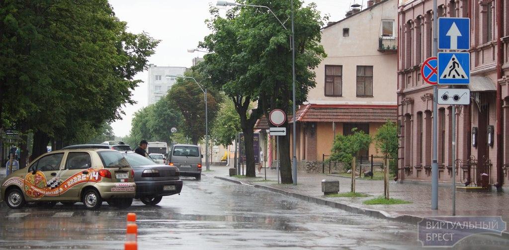 И о погоде... Дожди, гроза, ветер, ненастье, оранжевый уровень