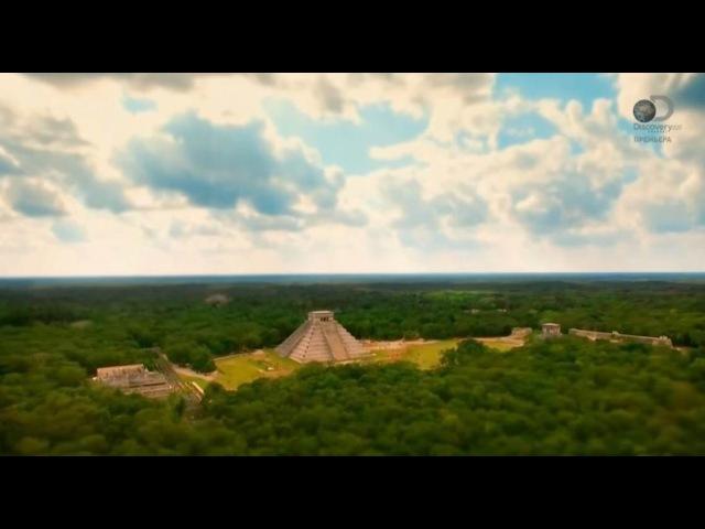 Взрывая историю Пирамиды майя Чичен Ица