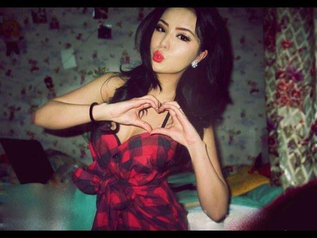 Красивые девушки Монголии. Beautiful girls Mongolia
