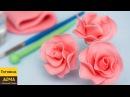 Розы из мастики Пошаговый урок по изготовлению розочек на торт
