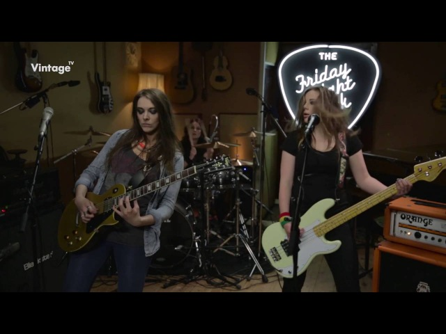 The Amorettes - Let the Neighbours Call the Cops - Live on Vintage TV (HD)