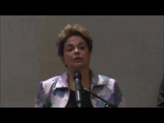 Conferencia de Cristina Fernández de Kirchner y Dilma Rousseff en San Pablo.