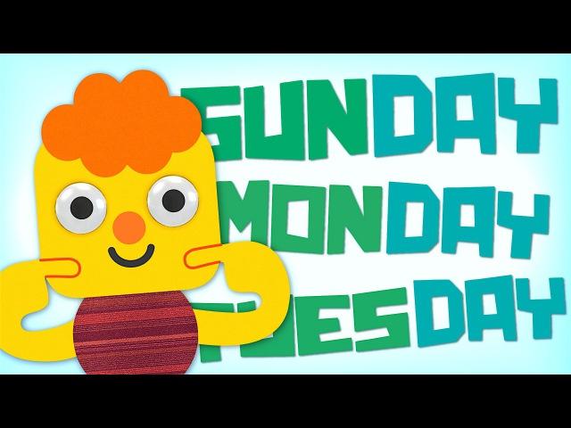 Days Of The Week Song Kids Songs Super Simple Songs