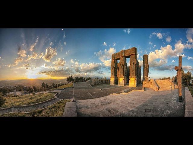 Tbilisis zgva მონუმენტი - საქართველოს მატიანე тбилисское море - монумент История Грузии