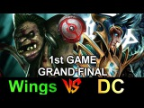 Wings vs DC - TI6 GRAND FINAL [1st Game]Wrath of Sky