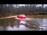 Купание красного коня или экстремальное вождение Audi A6 C6 allroad quattro.