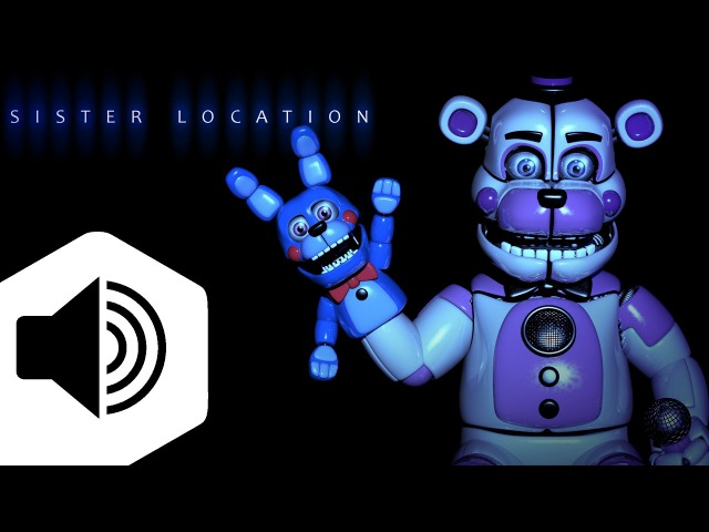 Five Nights at Freddy's: Sister Location OST (Funtime Freddy and Bonnie Marionette Voices)