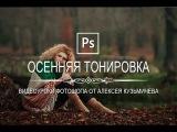 Photoshop - Драматичная осенняя тонировка в фотошопе