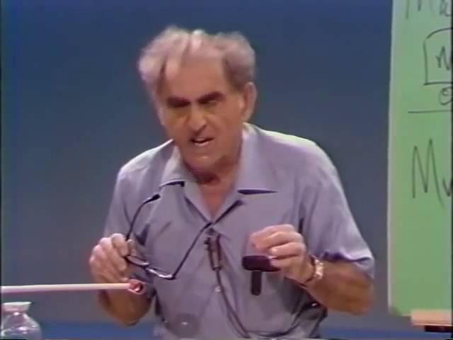 Демонстрации по физике [4] Третий закон Ньютона