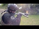 Как перезарядить АК-47 с поврежденной рукой.How to reload an AK-47 with an injured arm  #coub, #коуб