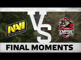 WATCH FIRST: Final Moments - Na`Vi vs Empire bo3 @ Dota Pit S5