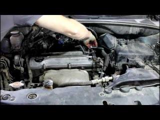 Toyota Harrier Тойота Харриер 2003 года Замена прокладки крышки клапанов и свечей зажига...